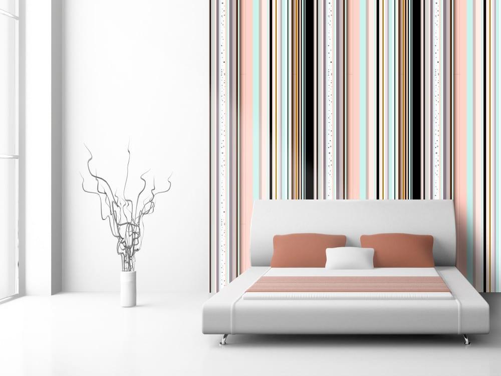 Tapety i fototapety - wyjątkowe dekoracje ścienne od Bimago -Kolorowe paski