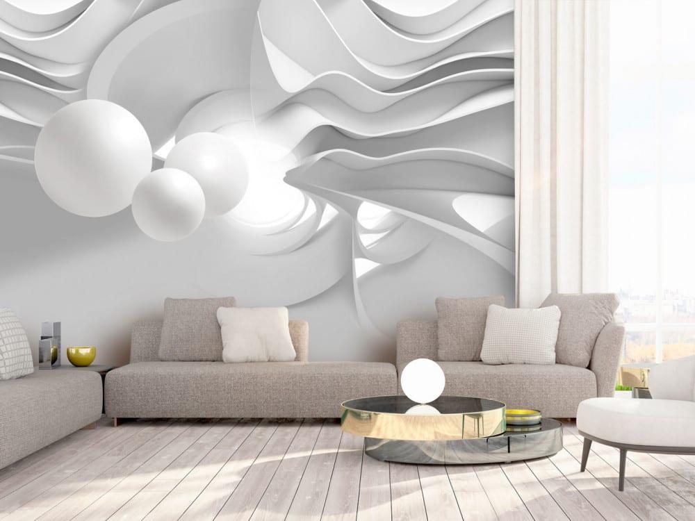 Tapety i fototapety - wyjątkowe dekoracje ścienne od Bimago - Korytarze bieli