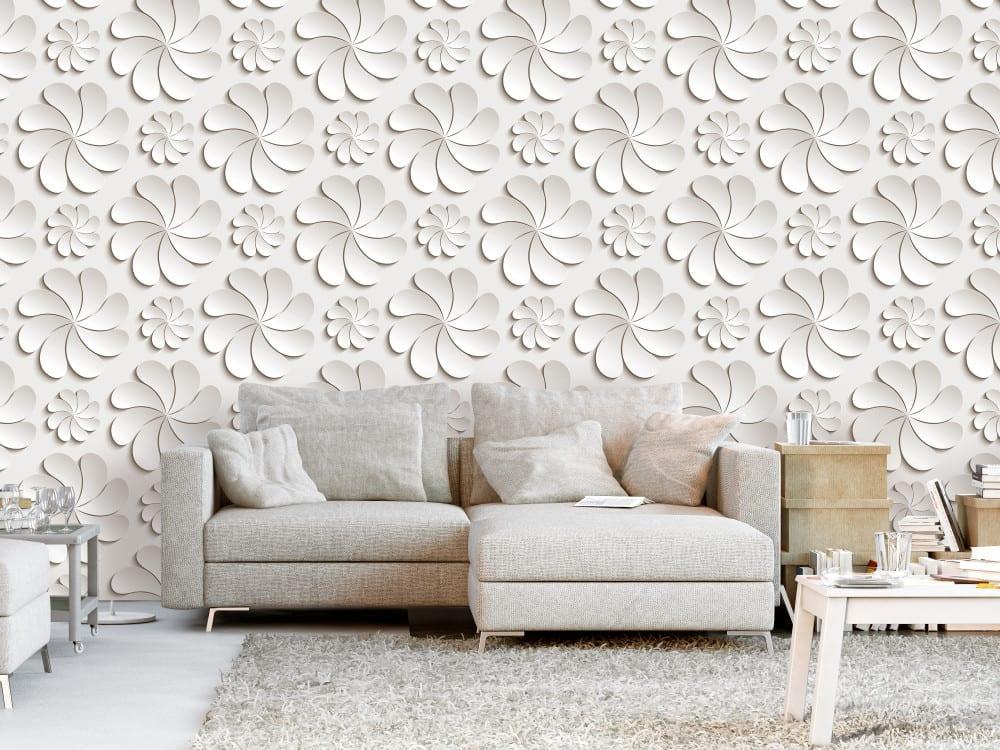 Tapety i fototapety - wyjątkowe dekoracje ścienne od Bimago - Kwiaty 3D