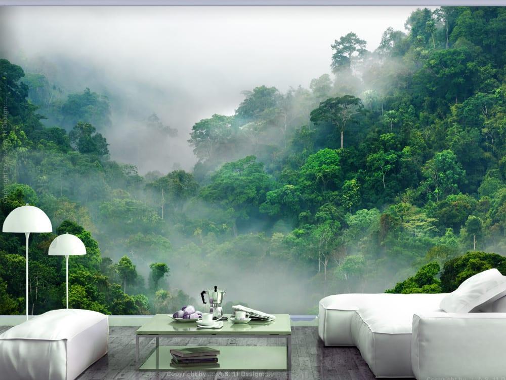 Tapety i fototapety - wyjątkowe dekoracje ścienne od Bimago - Poranna mgła w lesie