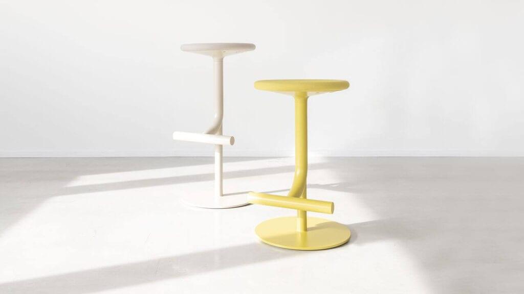 Tibu - reinterpretacja stołka barowego od marki Magis