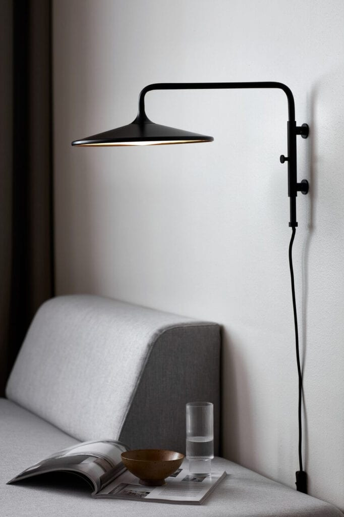 Urok światła z północy - inspiracje od marki Ardant - Nordlux - Kinkiet Balance