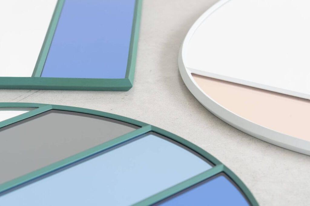 Vitrail - wyjątkowe lustra dekoracyjne projektu Ingi Sempé