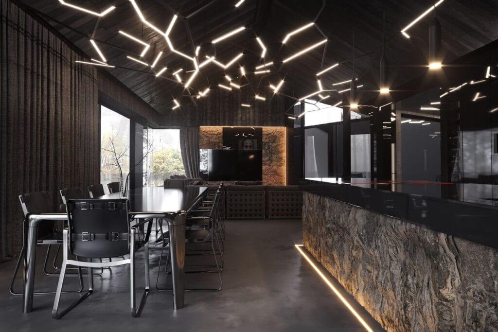 Wnętrza RE: REDWOOD HOUSE - REFORM Architekt - Marcin Tomaszewski