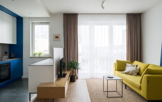 70-metrowe mieszkanie dla młodej pary na Starym Polesiu w Łodzi
