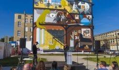 """Art. Mural Challenge w Łodzi – """"drugie życie"""" zwycięskiego muralu"""