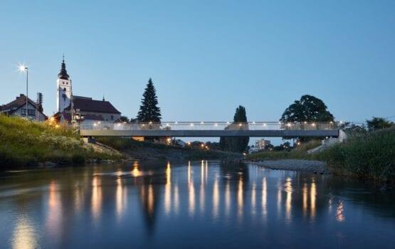 Betonowy most w Příborze – projekt pracowników Instytutu Kloknera