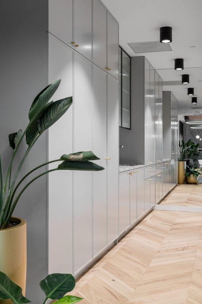 Biuro Mid Europa Parnters w budynku Warsaw Financial Center w Warszawie - projekt Bit Creative - zdjęcia fotomohito
