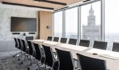 Biuro Mid Europa Parnters w budynku Warsaw Financial Center