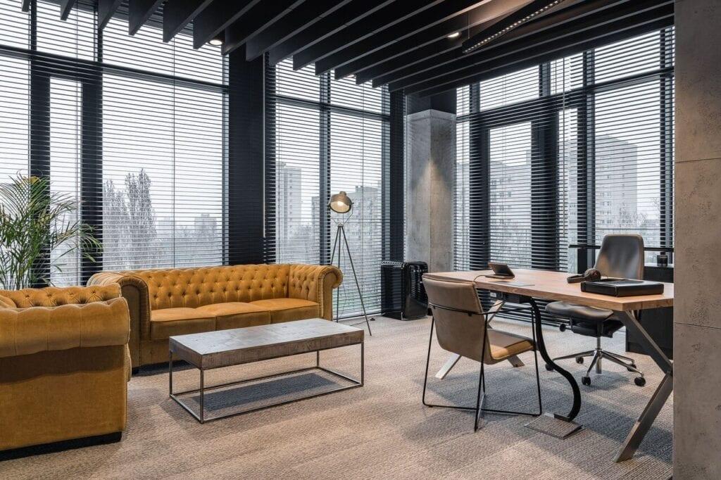 Wnętrze biura - Wnętrze nowego biura Universal Music Polska w Warszawie projektu The Design Group