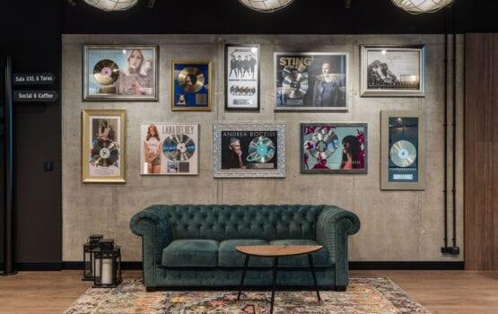 Biuro Universal Music Polska – muzyczna i nowoczesna przestrzeń