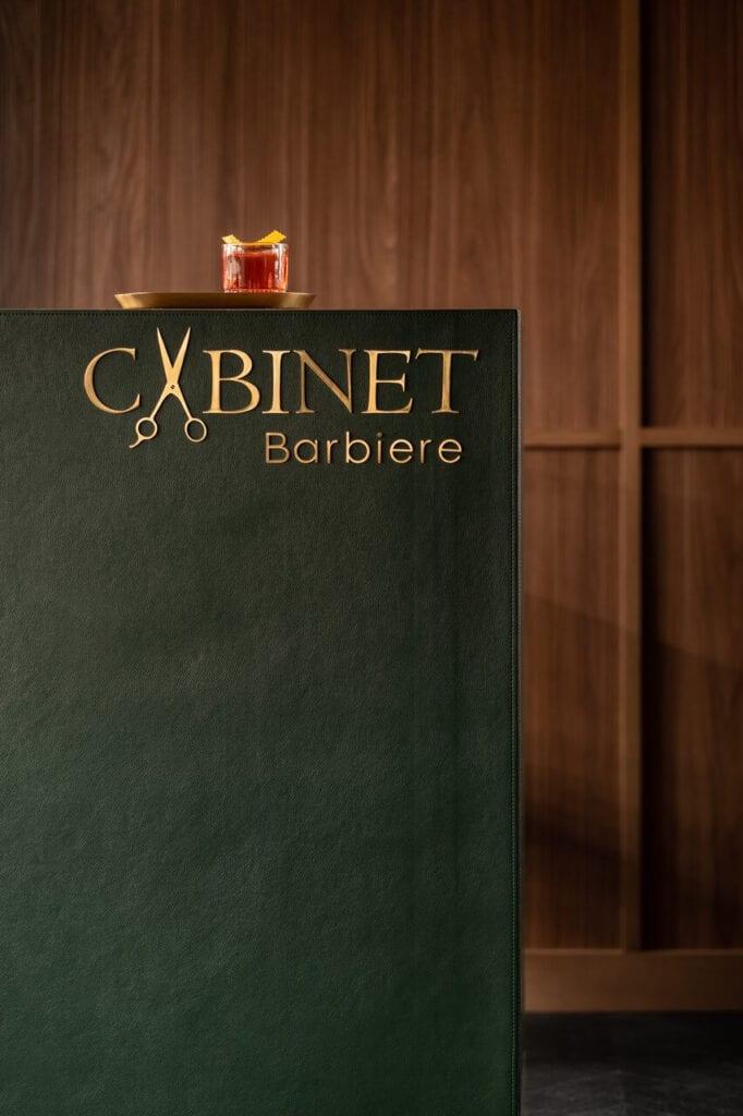 Cabinet Barbiere - luksusowy gabinet kosmetyczny projektu Olgi Bogdanowej - foto Andrey Bezuglov