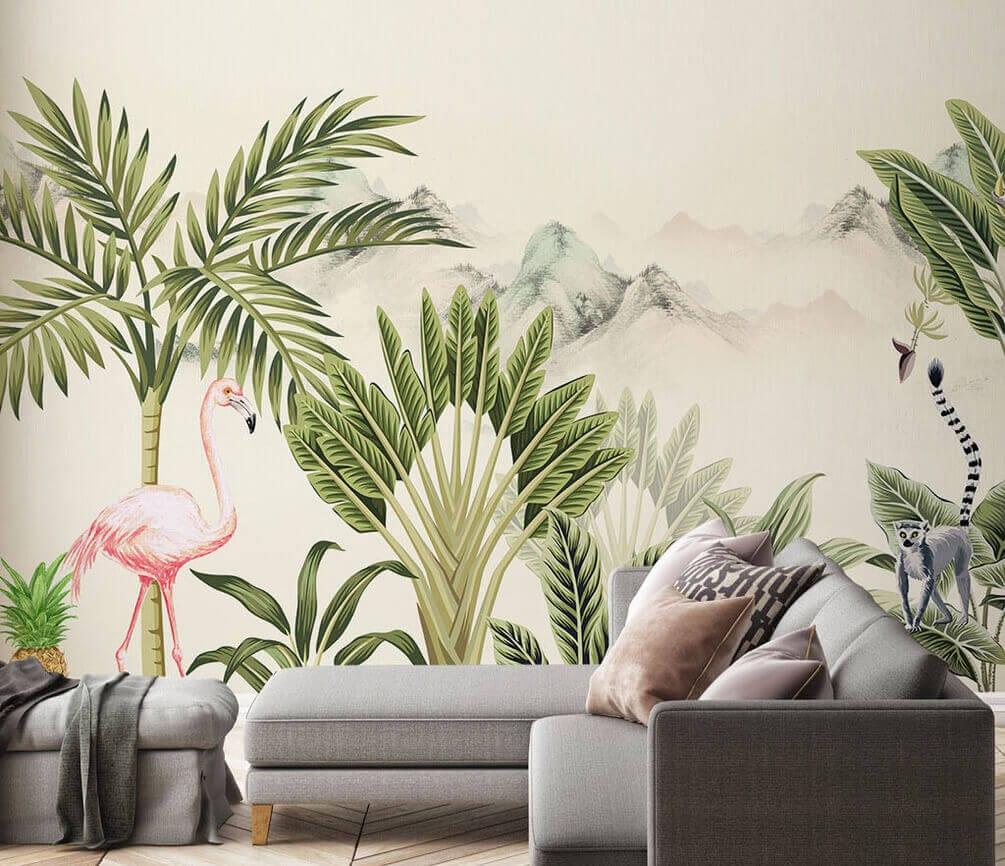 Dekorujemy ścianę w salonie - designerskie tapety do wyjątkowych wnętrz - uWalls