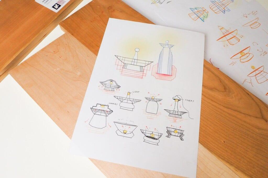 Discovered - odkrywamy kolejne pokolenie utalentowanych projektantów - Kamonwan Mungnatee - Corners Lamp
