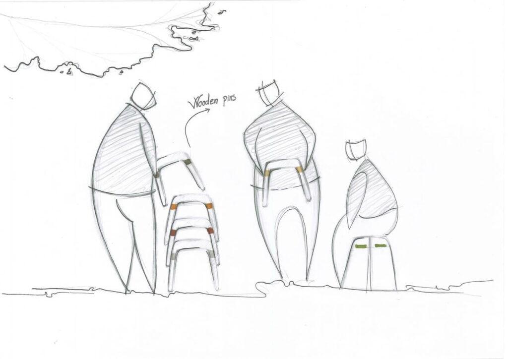 Discovered - odkrywamy kolejne pokolenie utalentowanych projektantów - Trang Nguyen - The Roof Stool