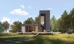 Rubedo house – domek letniskowy w Strachowie
