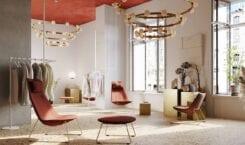 Fotel Chic Lounge – projekt francuskiego designera Christophe'a Pillet