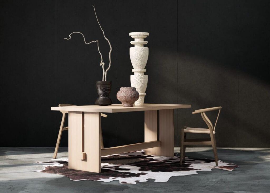 In Wood We Trust - wyjątkowe stoły z litego drewna - Stół Harrison
