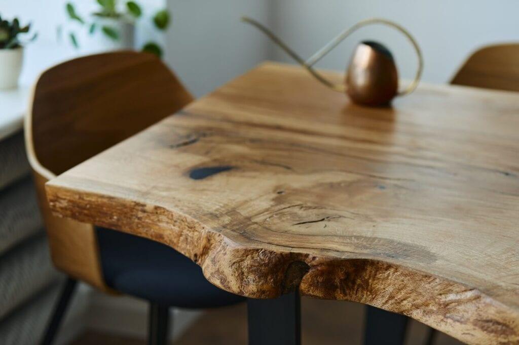 In Wood We Trust - wyjątkowe stoły z litego drewna - Orangery Table