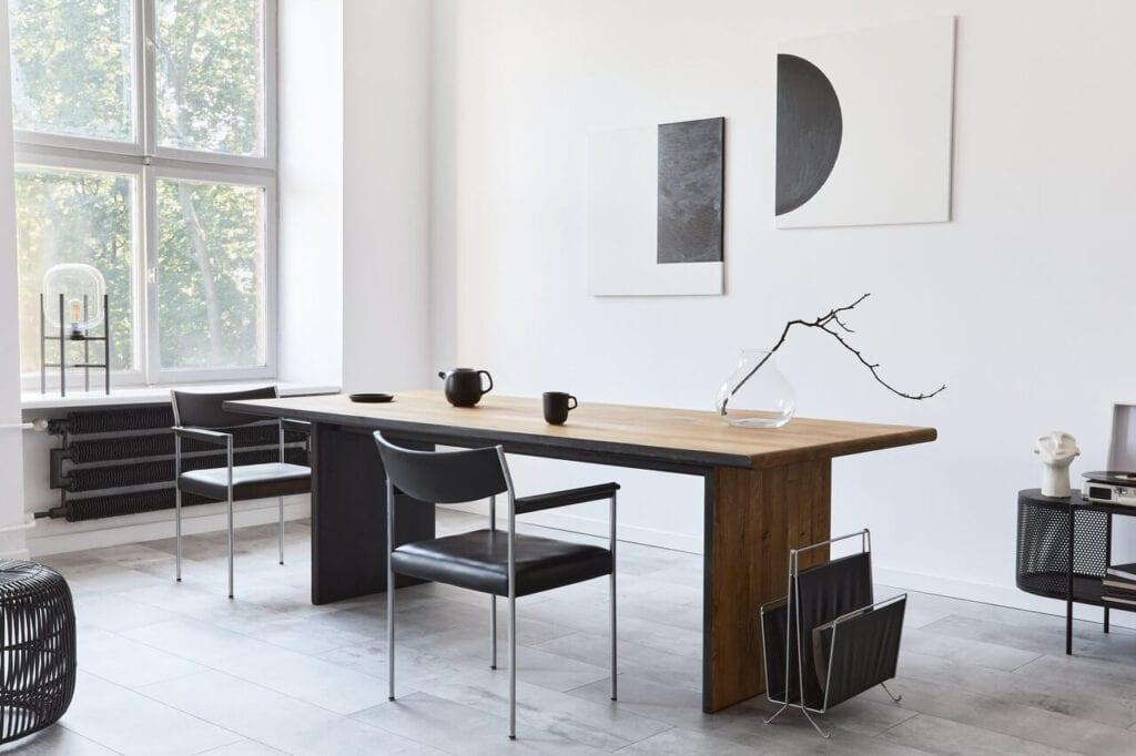 In Wood We Trust - wyjątkowe stoły z litego drewna - Stół Van Buren