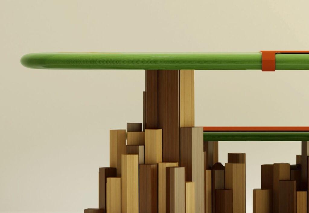 The Kadamba Gate - niezwykły stół projektu Iniego Archibonga