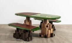 Ini Archibong i projekt niezwykłego stołu The Kadamba Gate