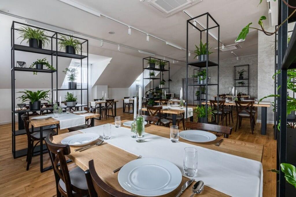 Kawiarnia Glazer - rozkosz dla podniebienia, uczta dla oczu - projekt pracowni architektonicznej URBAN / TATARCZUCH - foto Piotr Hołowienko
