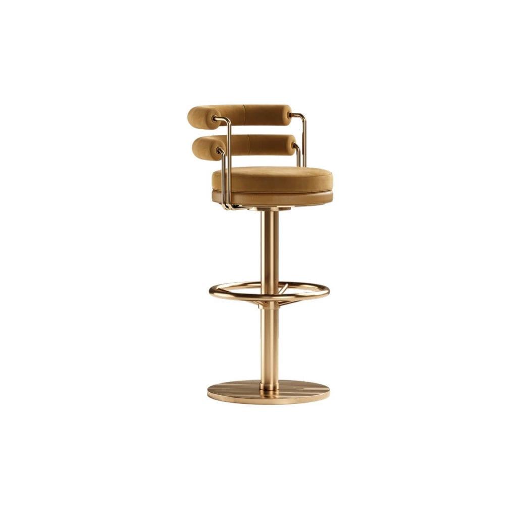 Mezzo Collection - meble inspirowane stylem mid-century - krzesła barowe OTIS I - II