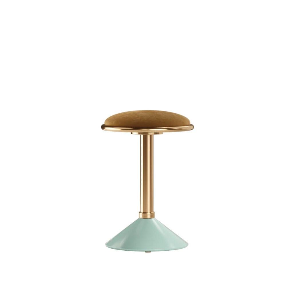 Mezzo Collection - meble inspirowane stylem mid-century - stołek barowy CROSBY