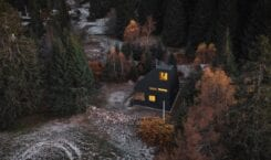 Niezwykły domek letniskowy na skraju lasu