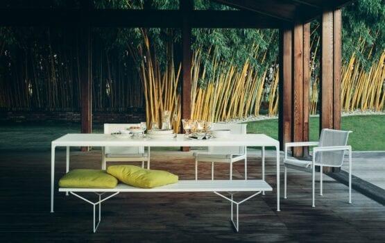 Pierwsze nowoczesne meble ogrodowe KNOLL z 1966 roku