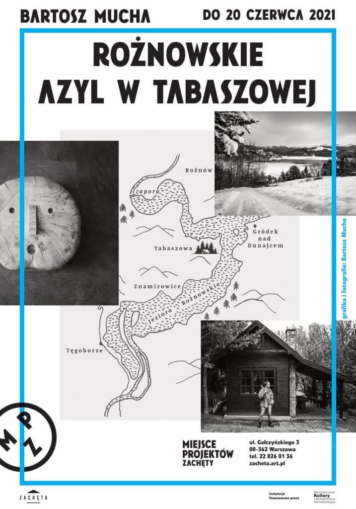 Projekt Rożnowskie. Azyl w Tabaszowej - wystawa Bartosza Muchy w Miejscu Projektów Zachęty