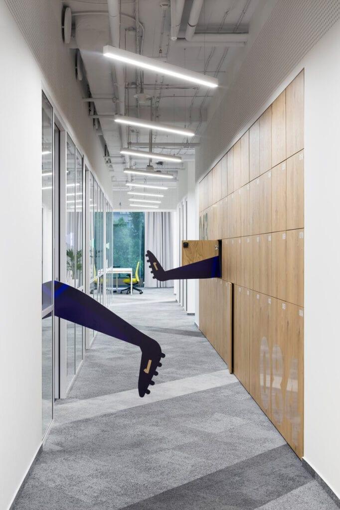 Perspektiv i biuro bukmachera Fortuna Entertainment Group - foto Studio Flusser