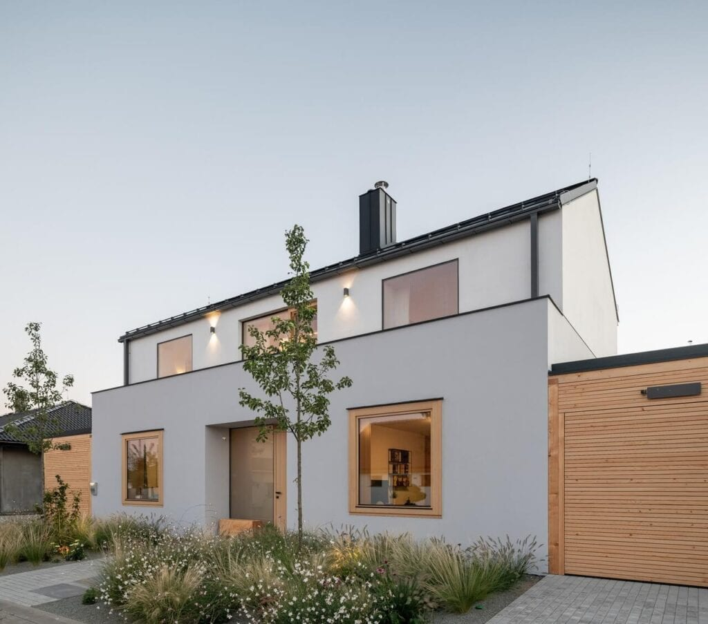Projekt domu z widokiem na wzgórza - foto Alex Shoots Buildings