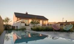 SENAA architekti i projekt domu z widokiem na wzgórza