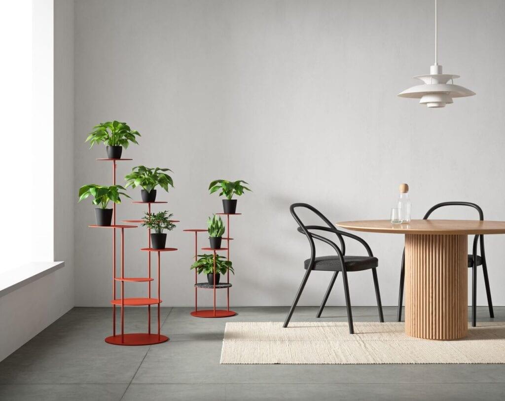 TILLO - kolekcja podłogowych kwietników na kilka roślin od bujnie - wizualizacje The Frame Studio