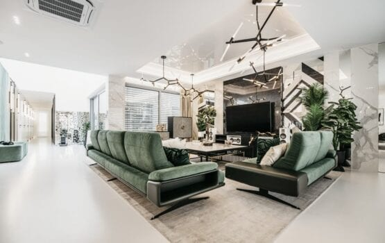 Wnętrza 250-metrowego domu projektu pracowni Miara i Metr