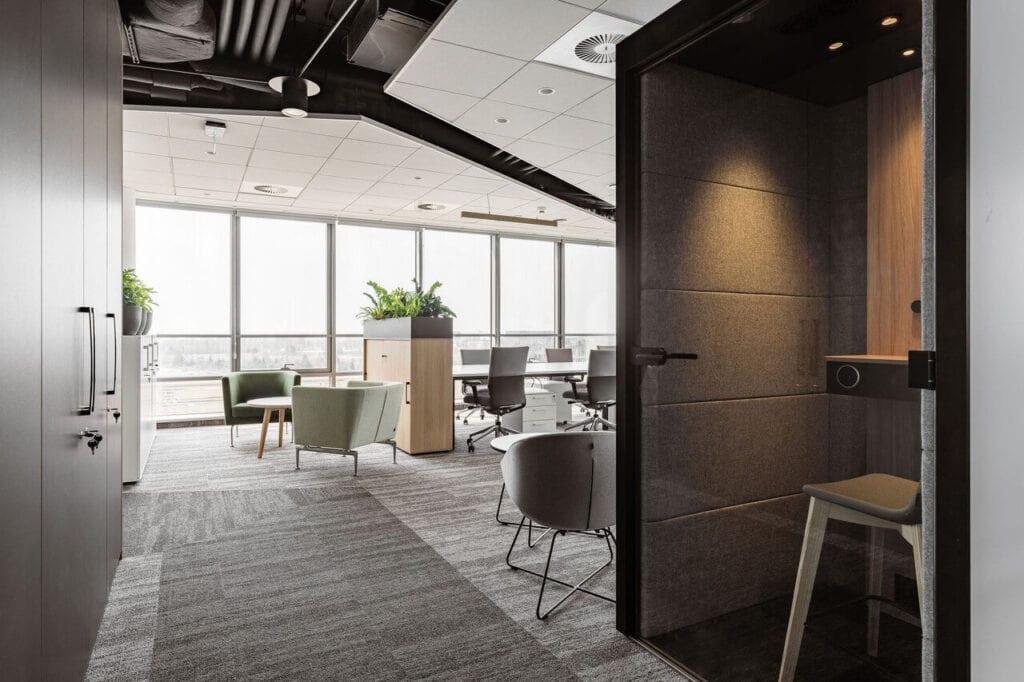 Wnętrza projektu Bit Creative - zdjęcia Fotomohito