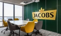 Wnętrza biura Jacobs Douwe Egberts Poland projektu Bit Creative