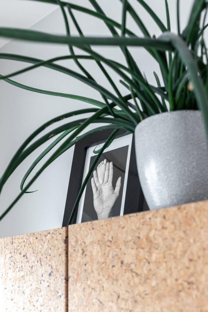 Dekoracje na komodzie - foto INKADR Fotografia wnętrz Natalia Kaczmarek