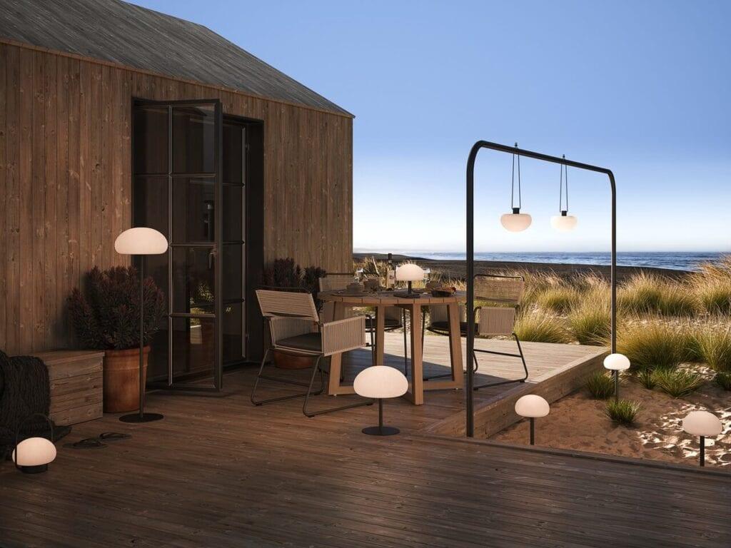 Wybieramy oświetlenie do ogrodu i na balkon – porady i inspiracje - Sponge Nordlux