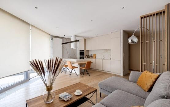 Apartament na Woli Justowskiej w nowoczesnym stylu
