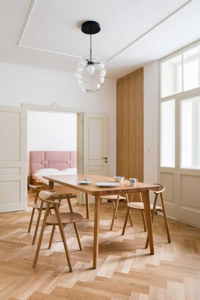 Apartament w Dejvicach - miejsce pełne nowoczesnych inspiracji - foto Studio Flusser
