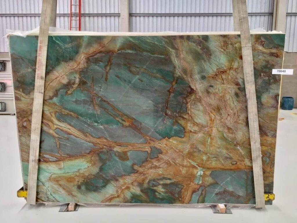 Aracuja Verde - kwarcyt w odcieniach zieleni - Interstone