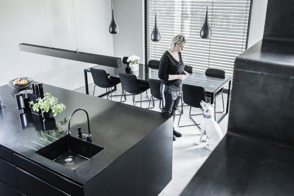 Kuchnia w domu jednorodzinnym w Wejherowie