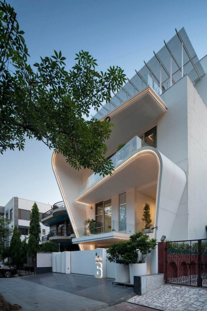 Avtar Villa - dom projektu pracowni Atrey & Associates