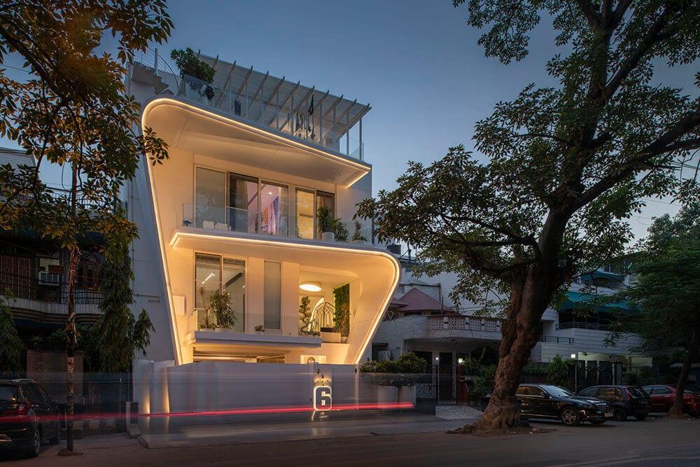 Front domu Avtar Villa