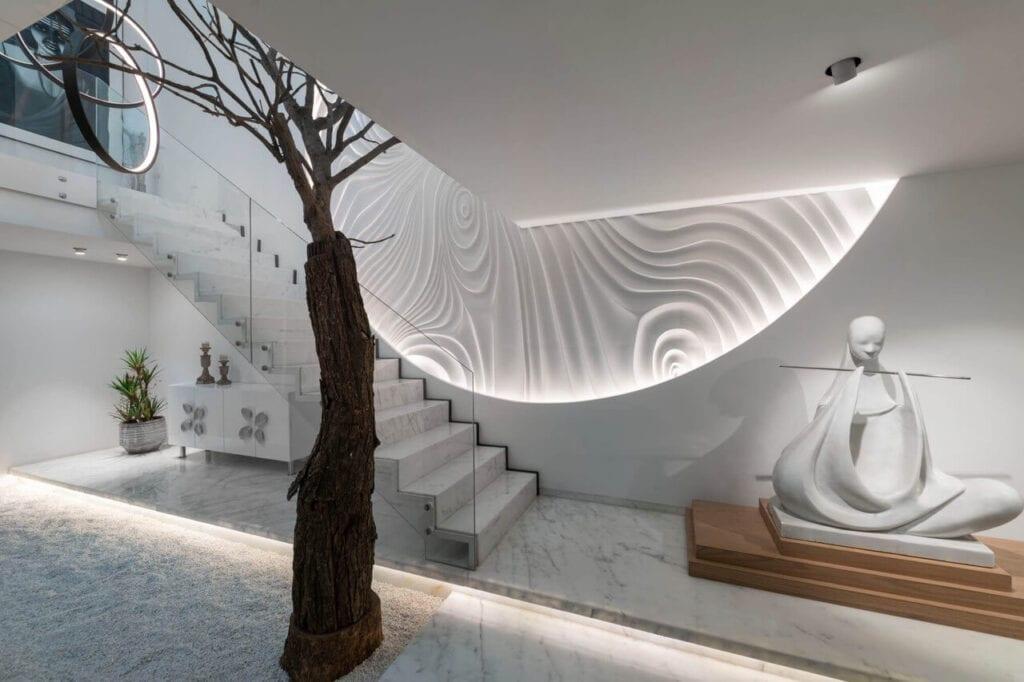 Dekoracje wewnątrz domu Avtar Villa