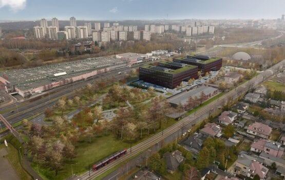 Budynek Prokuratur różnego szczebla w Katowicach od Ostrowscy Architekci
