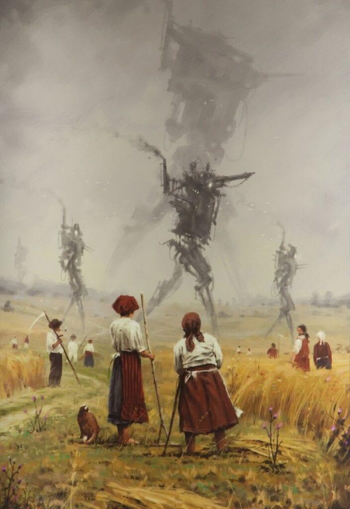 Jakub Różalski - Marsz żelaznych strachów na wróble